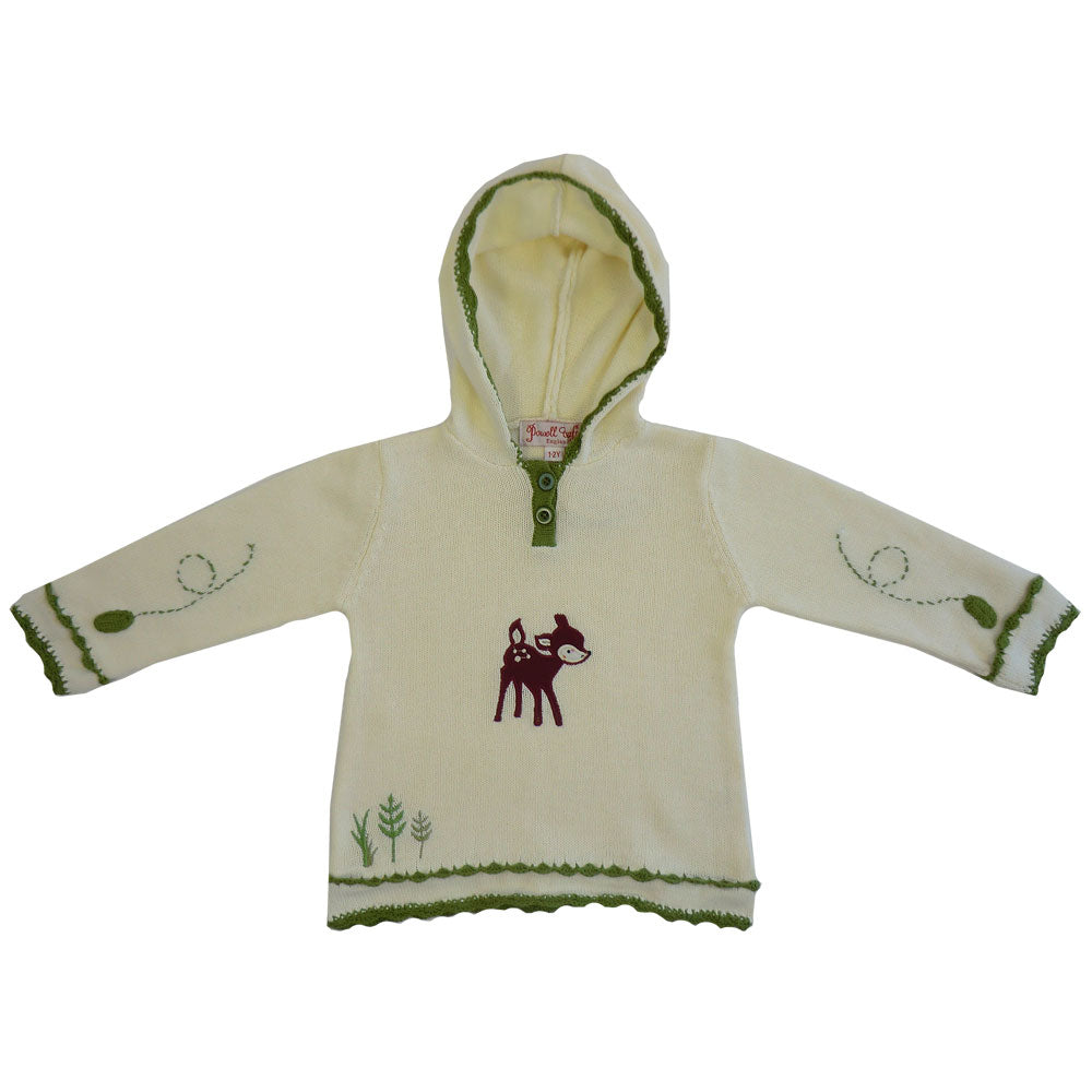 Woodland Deer Hooded Jumper
