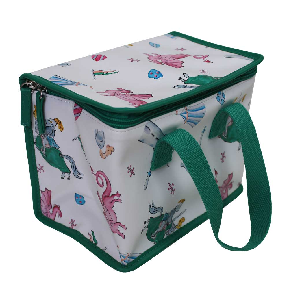 Knights & Dragons Print Lunch Bag