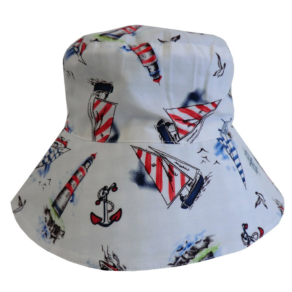 Nautical Child's Sun Hat