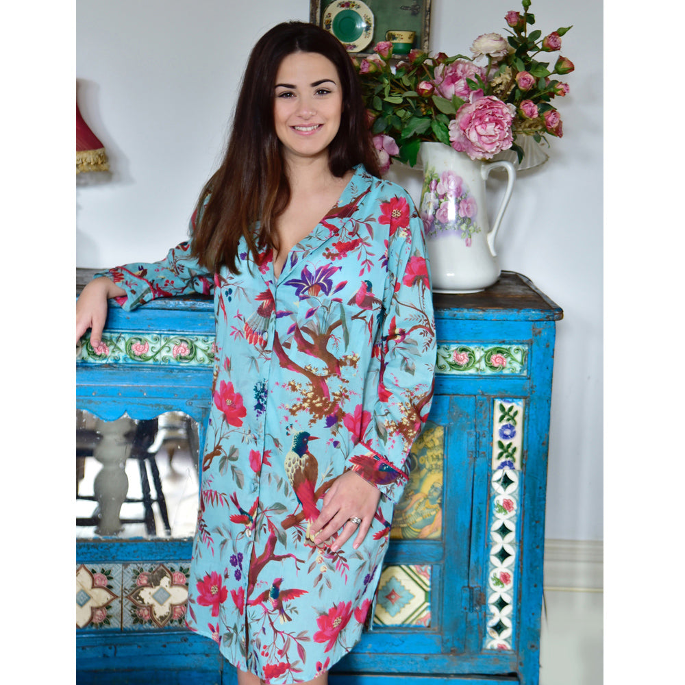 Turqoise Ladies Nightshirt