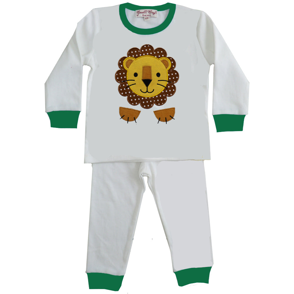 Lion Applique Cosy Pyjamas