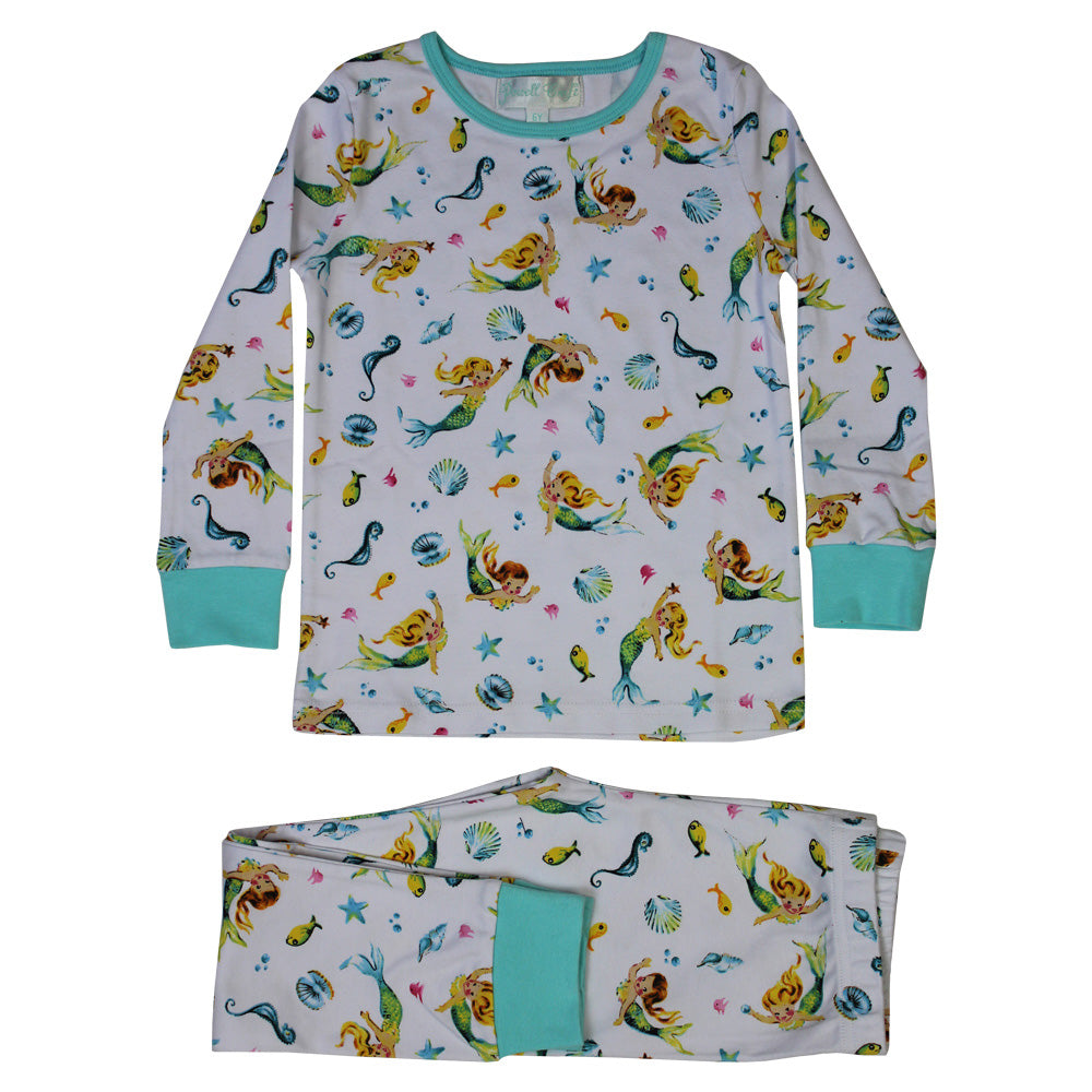 Mermaid Cosy Pyjamas