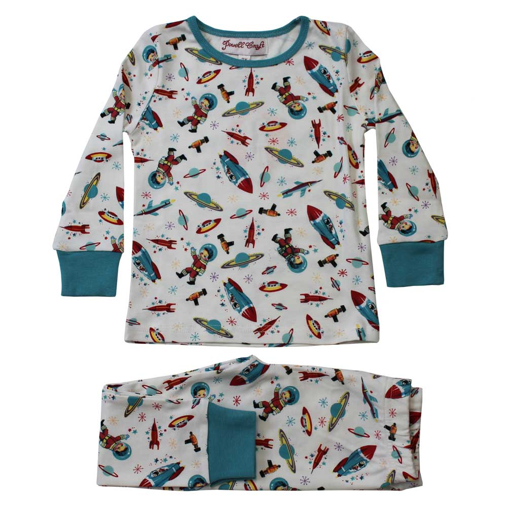 Space Print Cosy Pyjamas