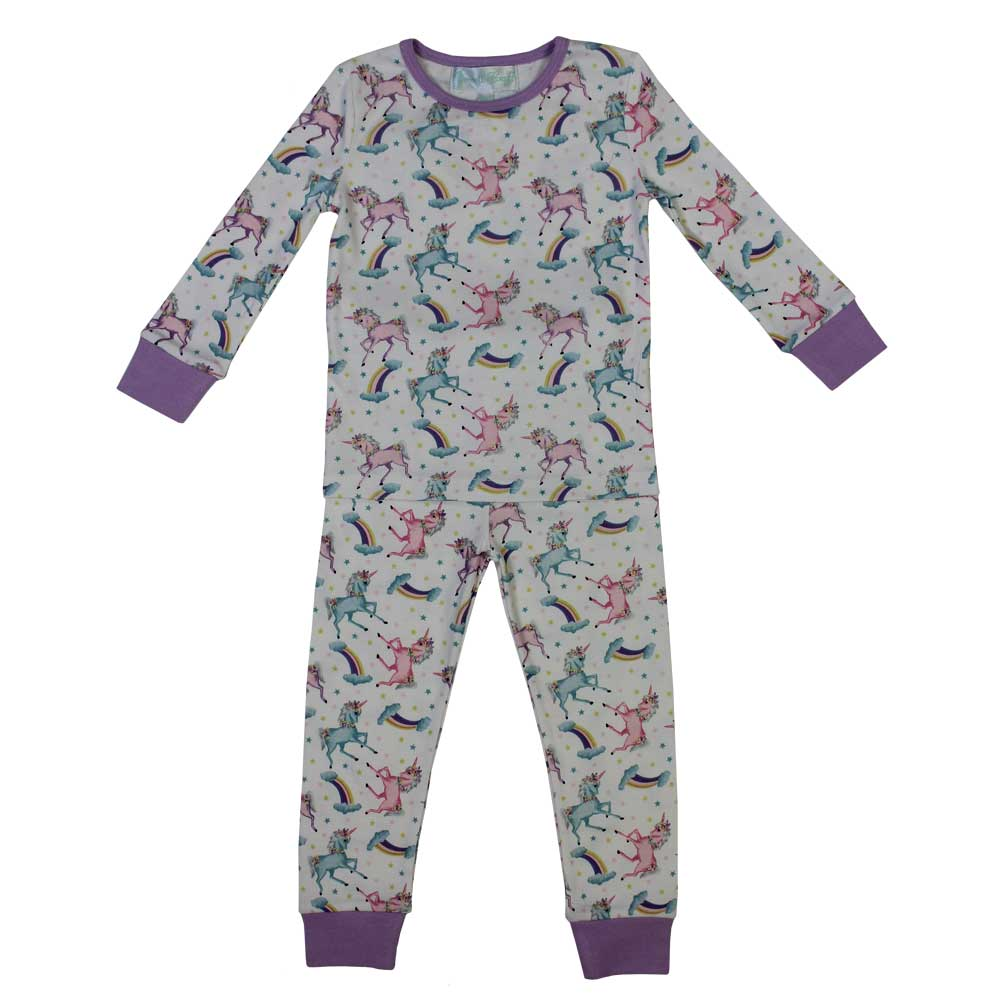 Unicorn Cosy Knit Pyjamas