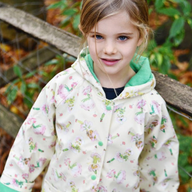 Garden Fairy Raincoat