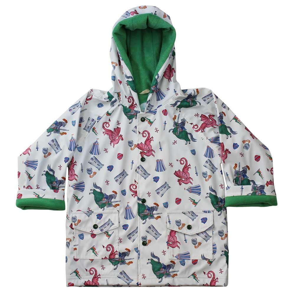 Knights and Dragons Raincoat