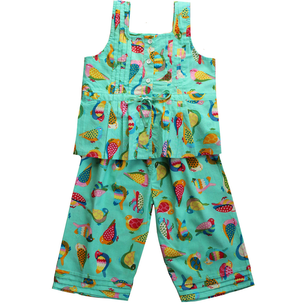 Birds of Paradise Strapped Pyjamas