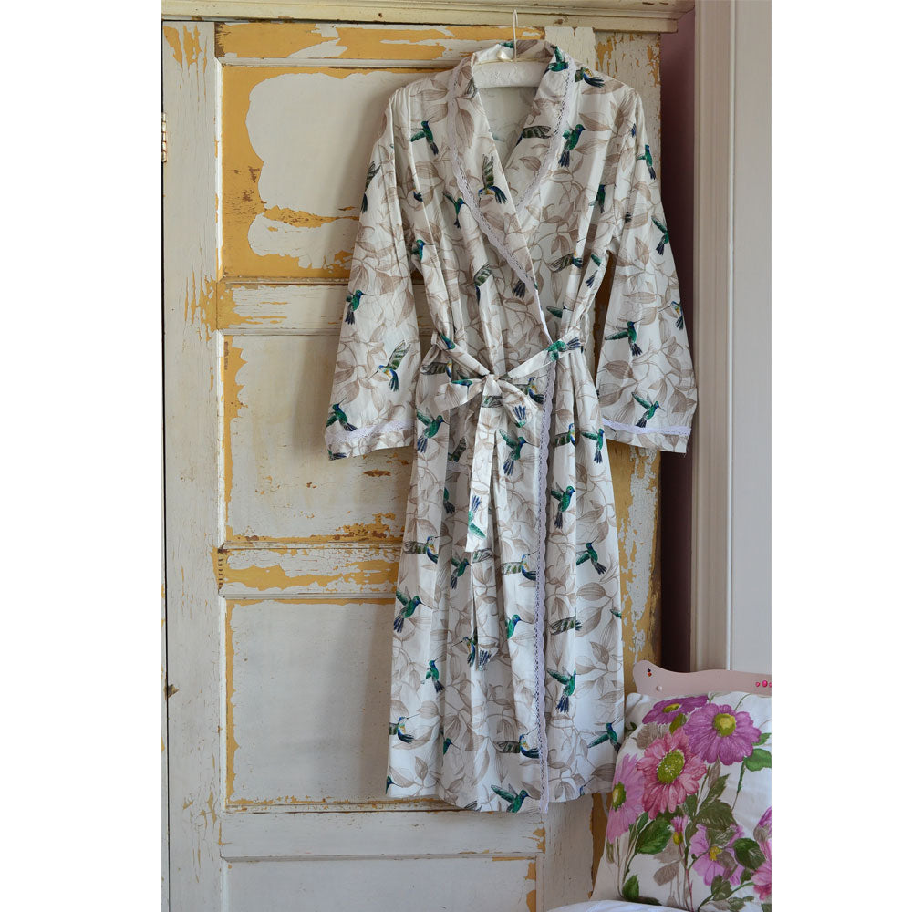 Hummingbird Ladies Dressing Gown