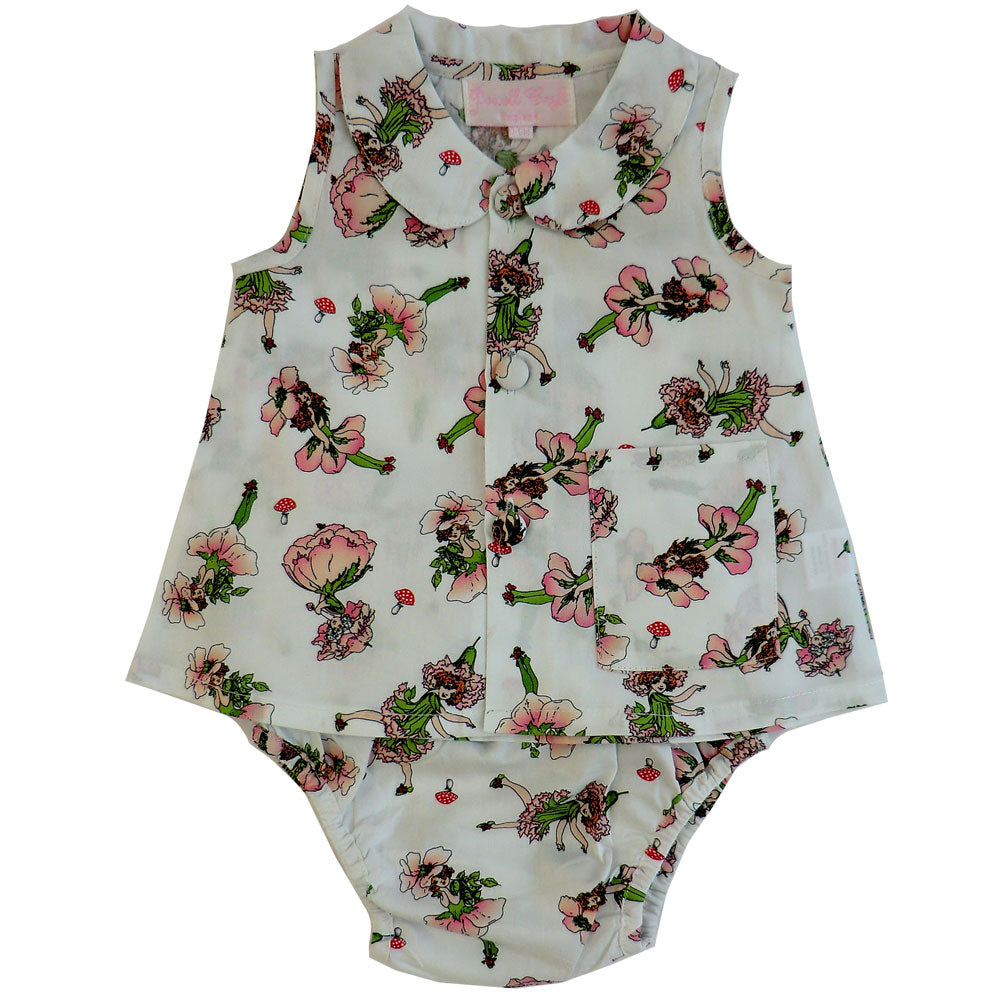 Garden Fairy Top And Frilly Knickers Set