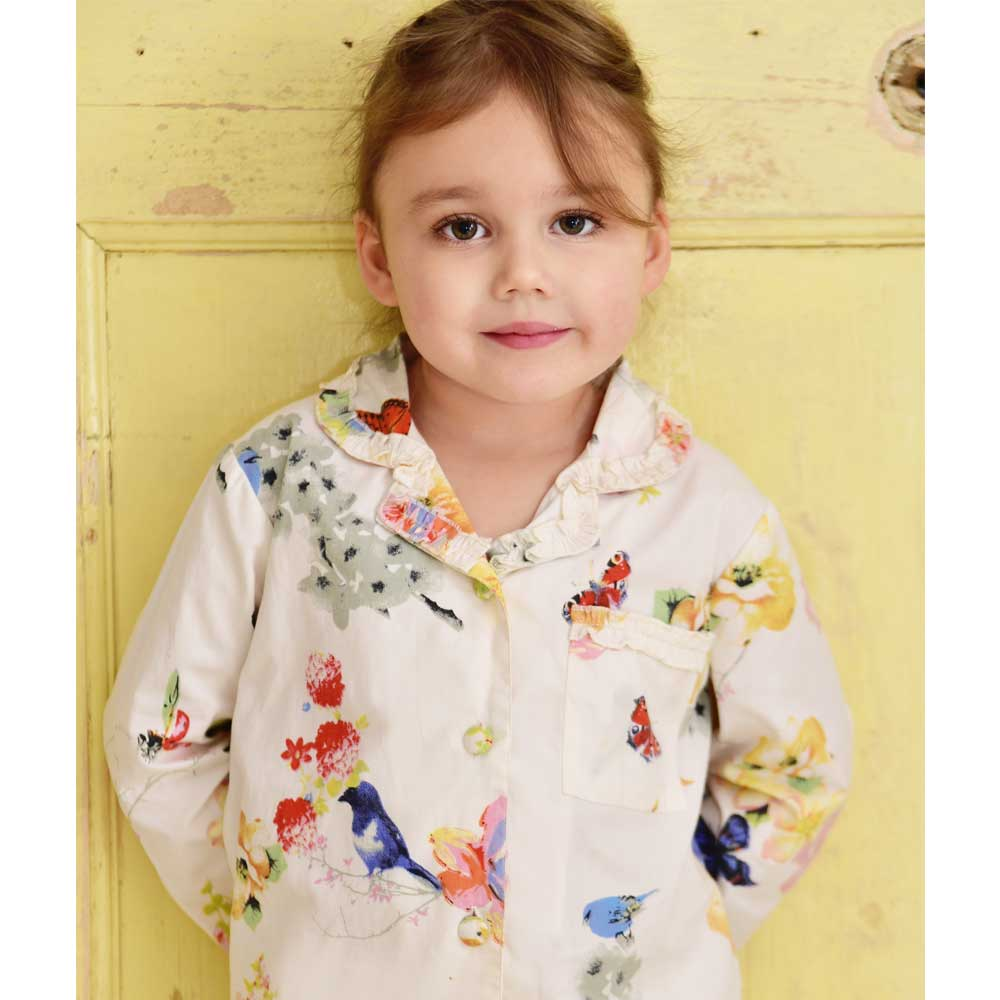 Ada Girl's Secret Garden Print Pyjamas
