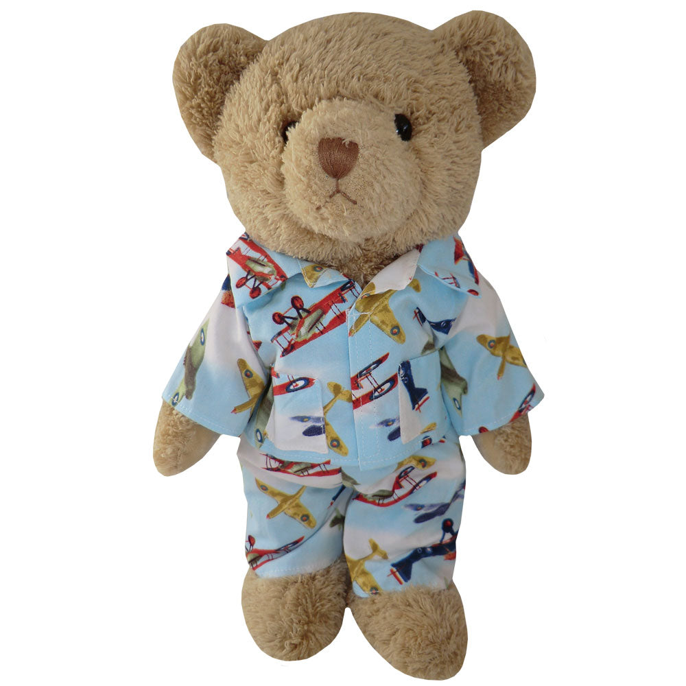 Teddy In Aeroplane Pyjamas