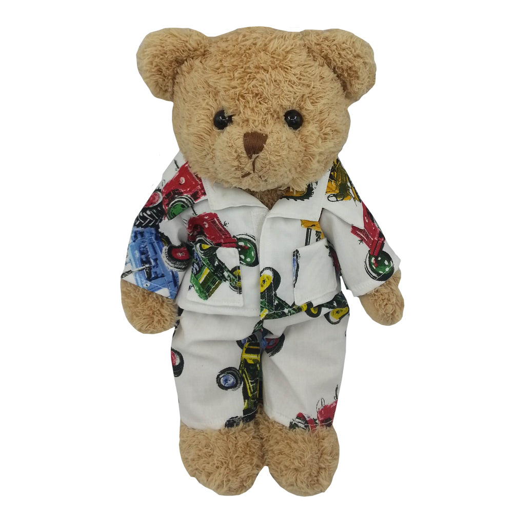 Teddy In Tractor Pyjamas