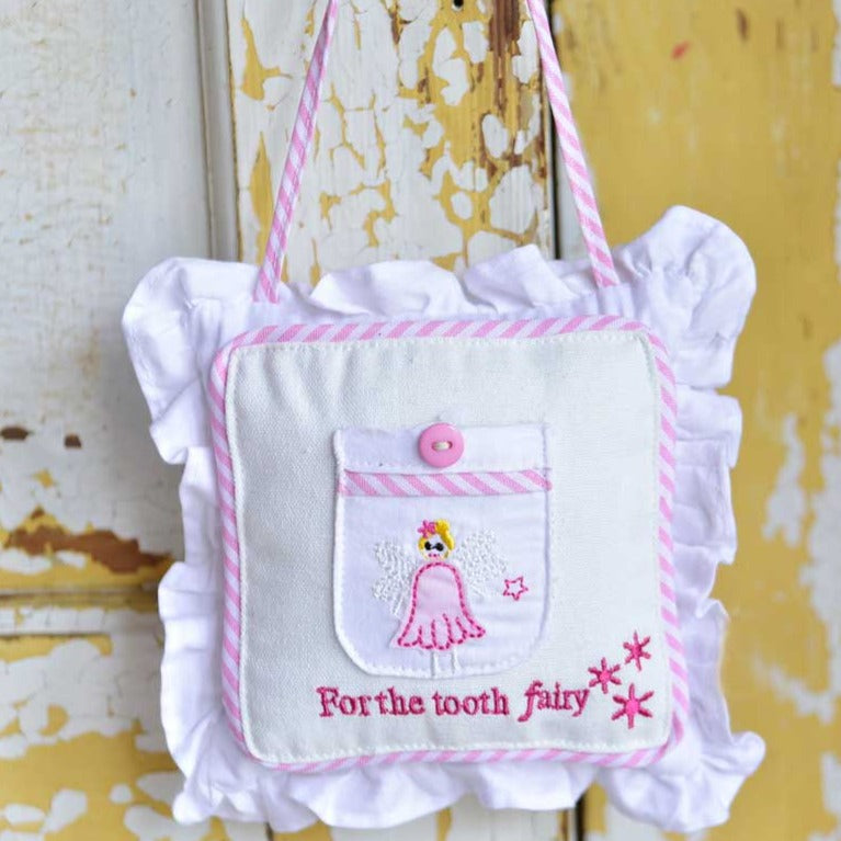 Pink Tooth Fairy Cushion
