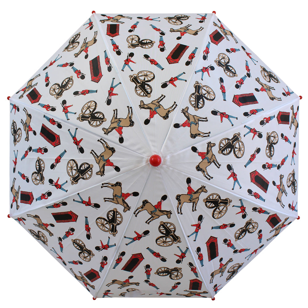 Horse and Guard Print Umbrella
