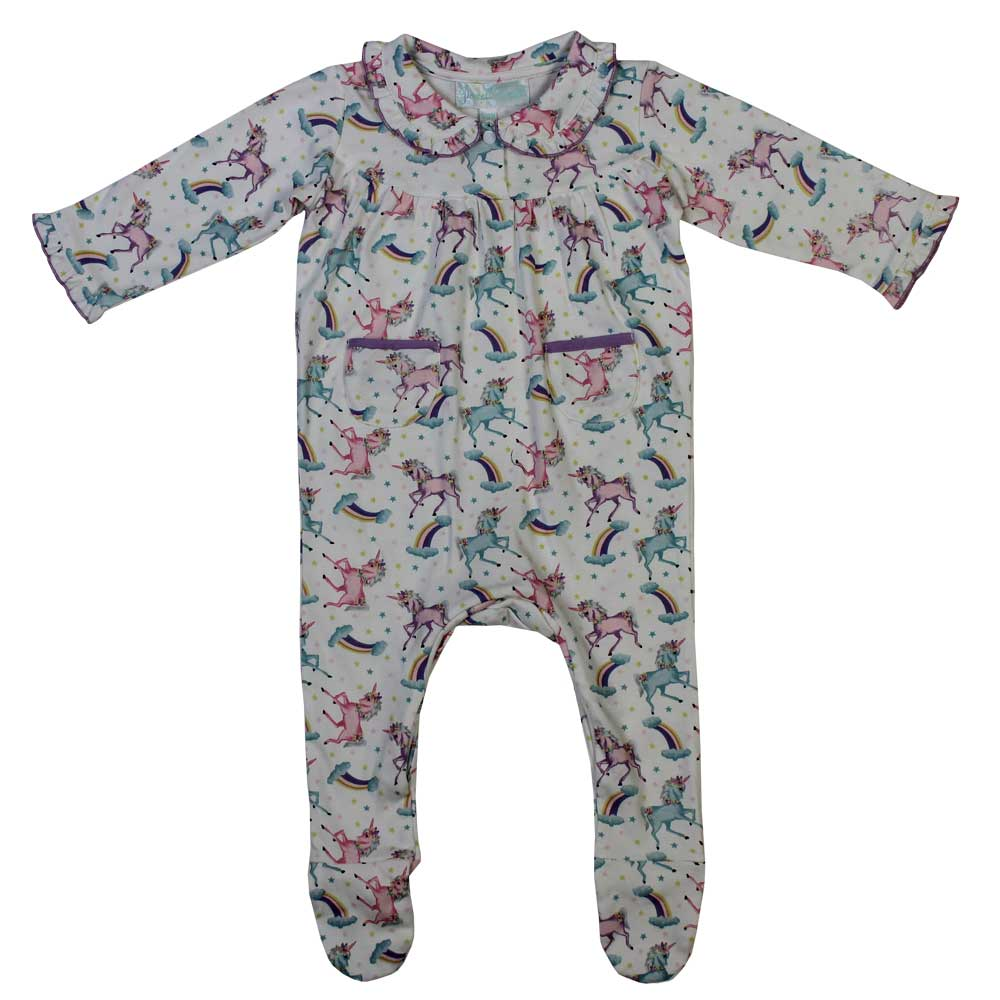 Unicorn Baby Jumpsuit