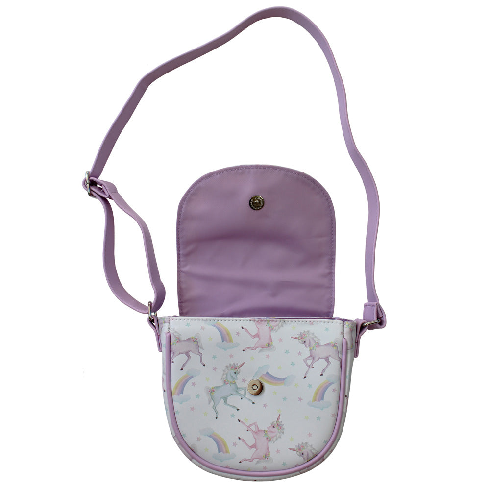 Unicorn Print Mini Handbag