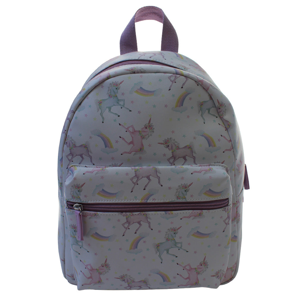 Unicorn Print Backpack