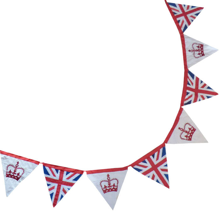 Union Jack & Crown Bunting