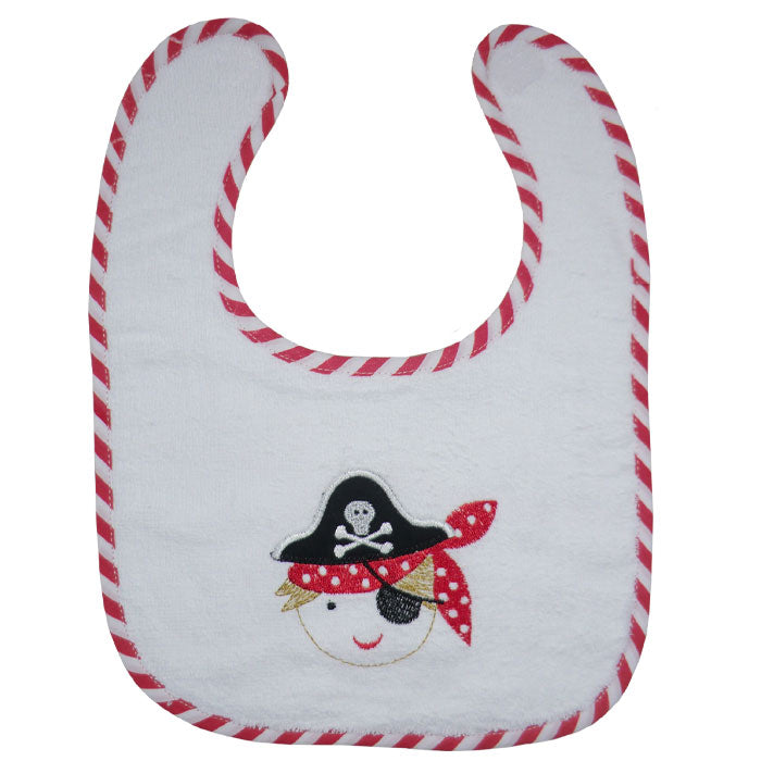 Towelling Pirate Bib