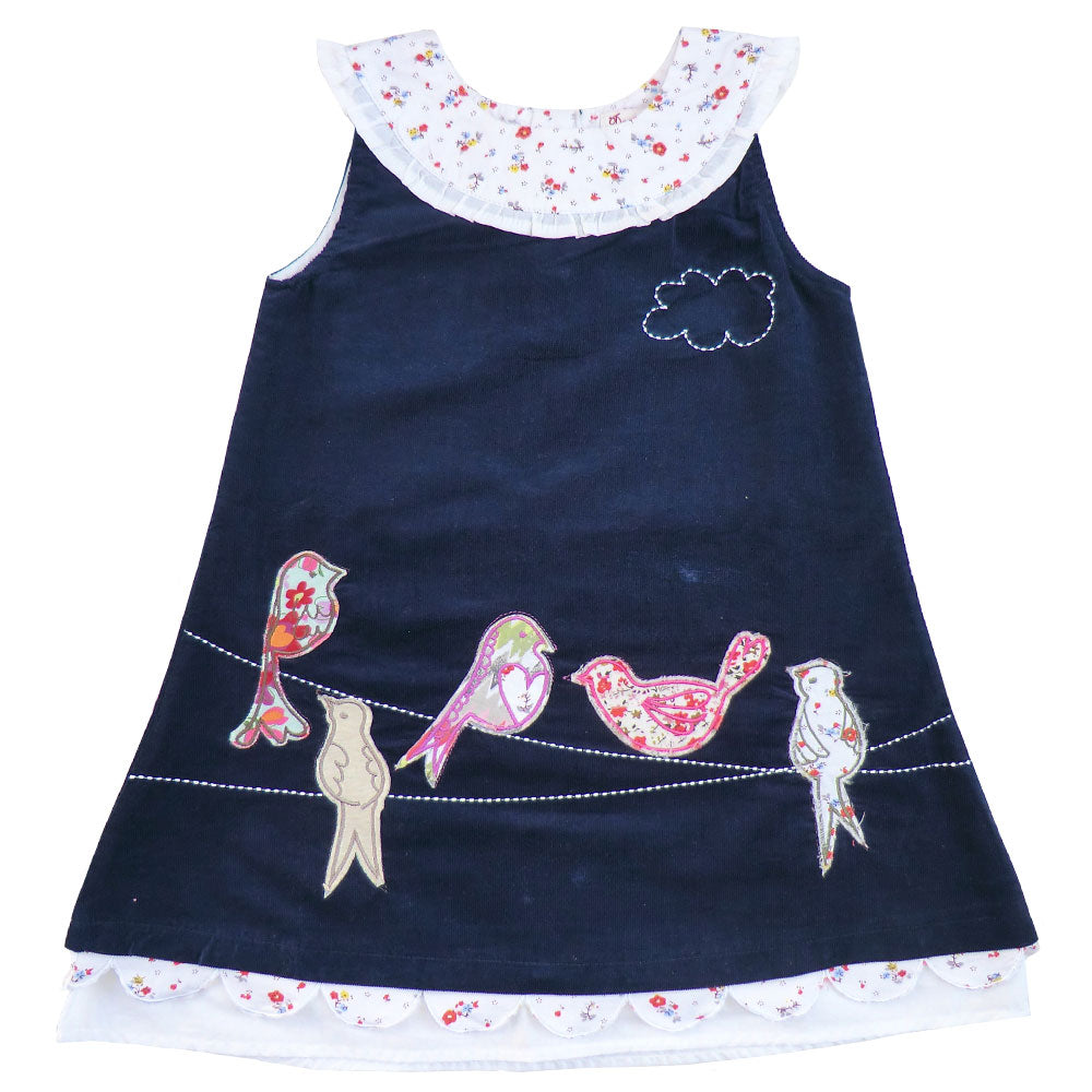 Birds On A Wire Cord Dress