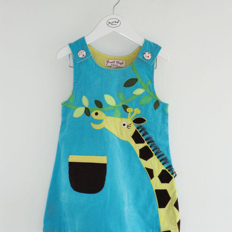 Giraffe Cord Dress