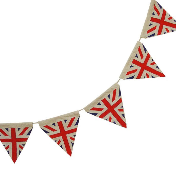 Union Jack Patchwork Bunting