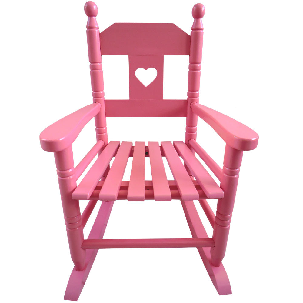 Pink Rocking Chair