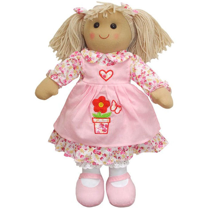 Flower Pot 40cm Rag Doll