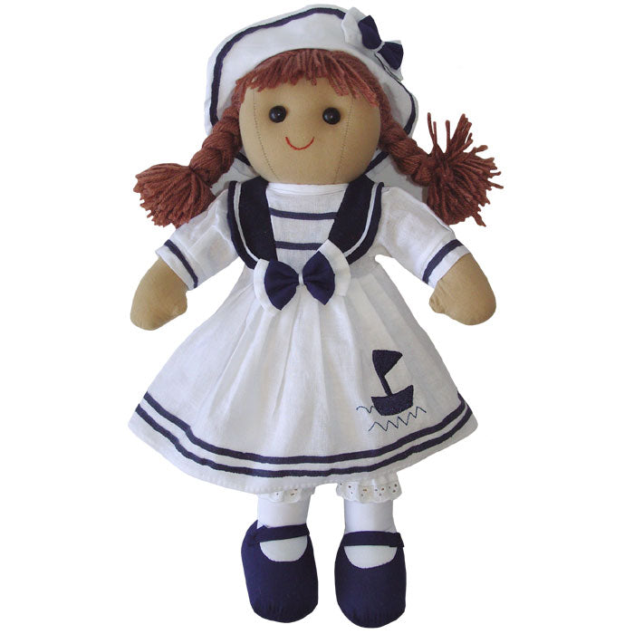 Sailor Girl 40cm Rag Doll