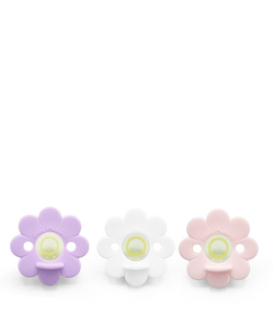 Pacifier - Daisy 3PK (Cookie) Flower Power
