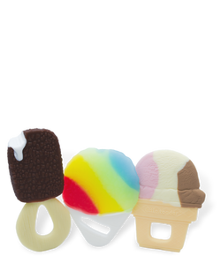 Chill and Teethe - Ice Cream and Snow Cone - 3 Pack