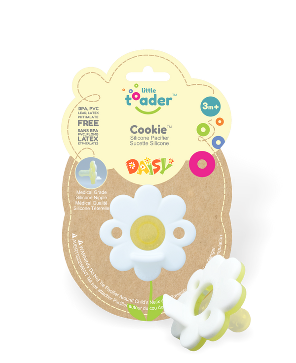Pacifier - White Daisy (Cookie)