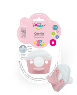 Pacifier - Pink Cupcake (Cookie)
