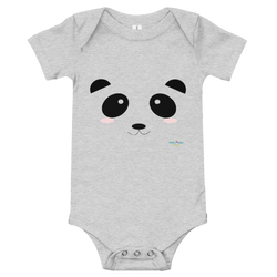 Infant Short Sleeve Bodysuit - Pandamania