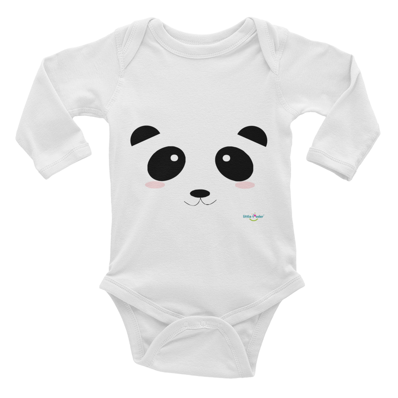 Infant Long Sleeve Bodysuit - Pandamania