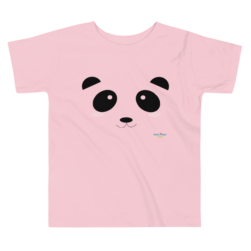 Toddler Short Sleeve Tee - Pandamania