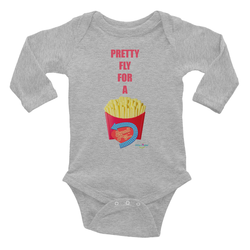 Infant Long Sleeve Bodysuit - Small Fry