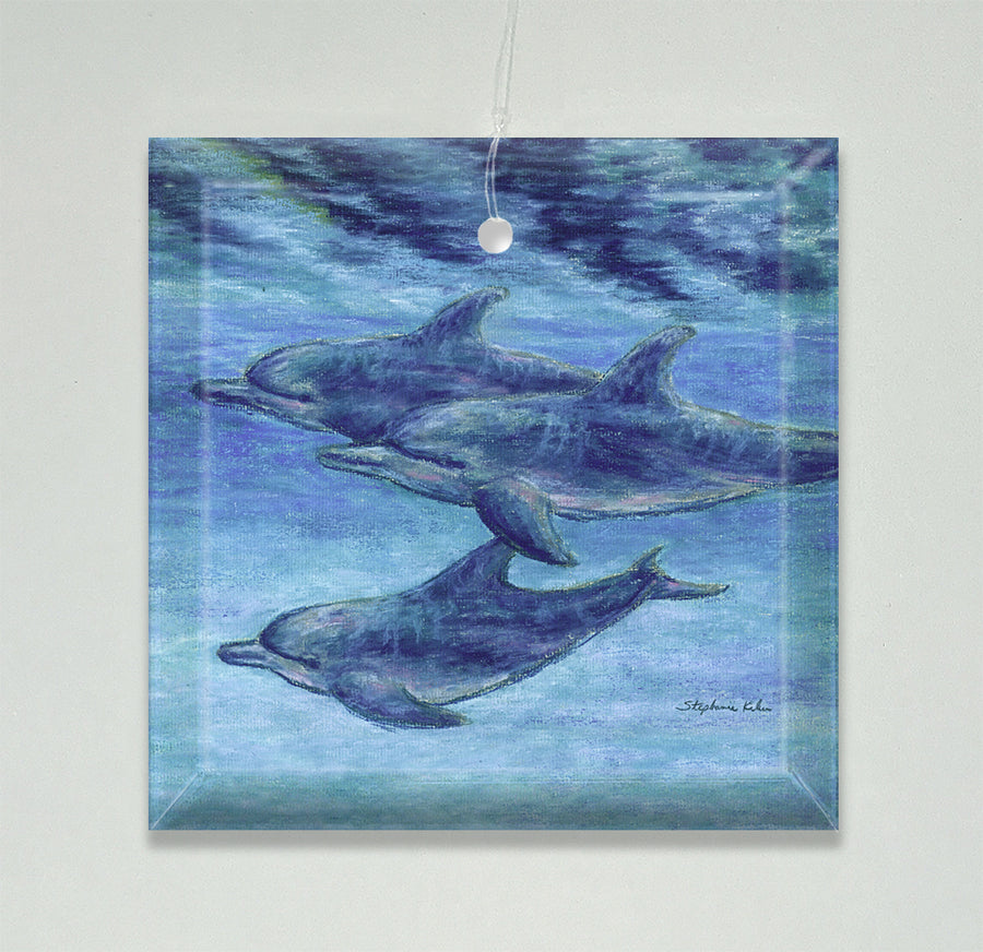 Dolphin Cruise Ornament/Suncatcher