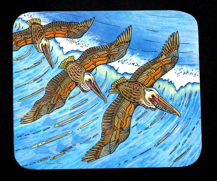 Wings Over Waves Mousepad