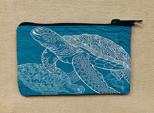 Sea Turtles One Color Coin Bag