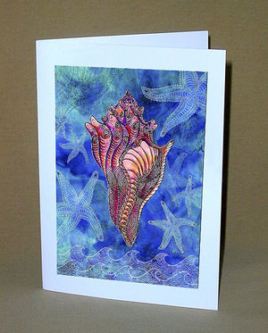 Conch Shell Notecard