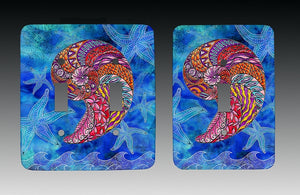 Nautilus Light Switch Cover