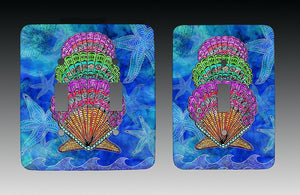 Scallop Shells Light Switch Cover