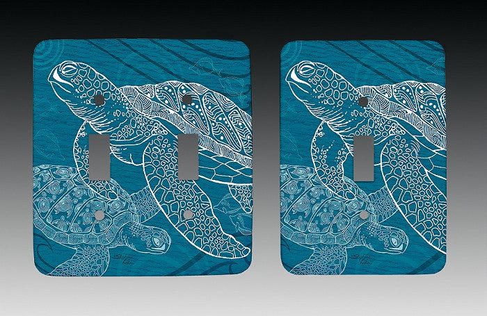 Sea Turtles One Color Light Switch Cover