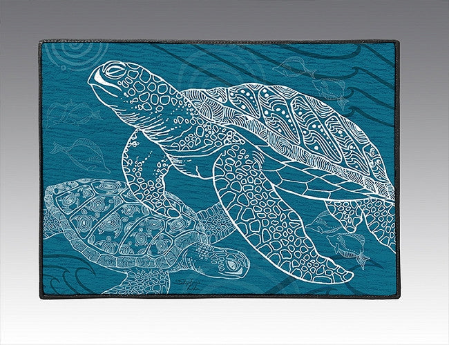 Sea Turtles One Color Door Mat