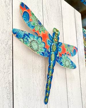 Dragonfly Flowers - Dragonfly Shape