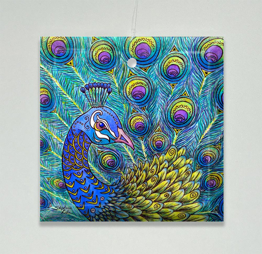 Peacock Ornament/Suncatcher