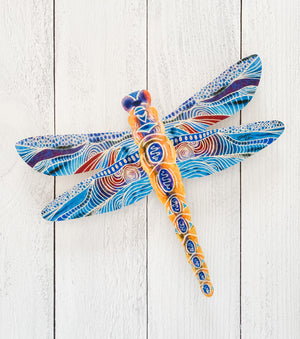 Yellow Dragonfly - Dragonfly Shape