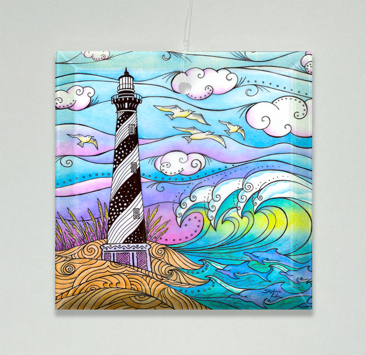 Hatteras Waves Ornament/Suncatcher