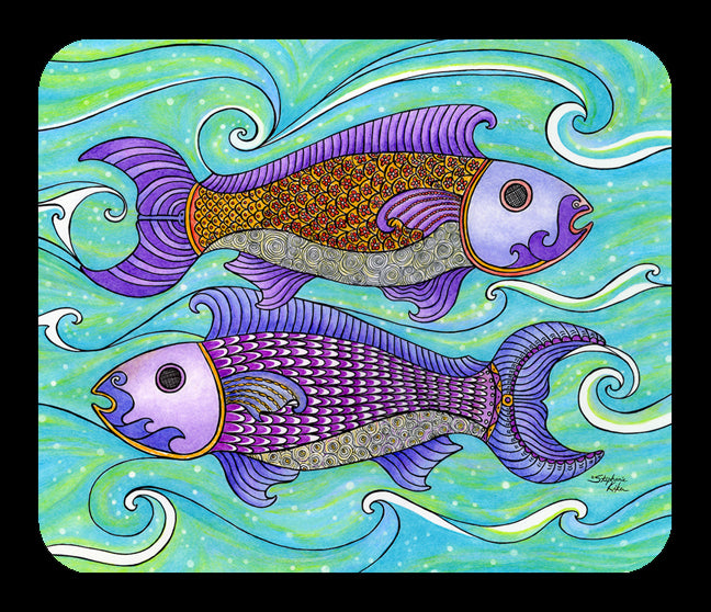 Two Fishes Mousepad